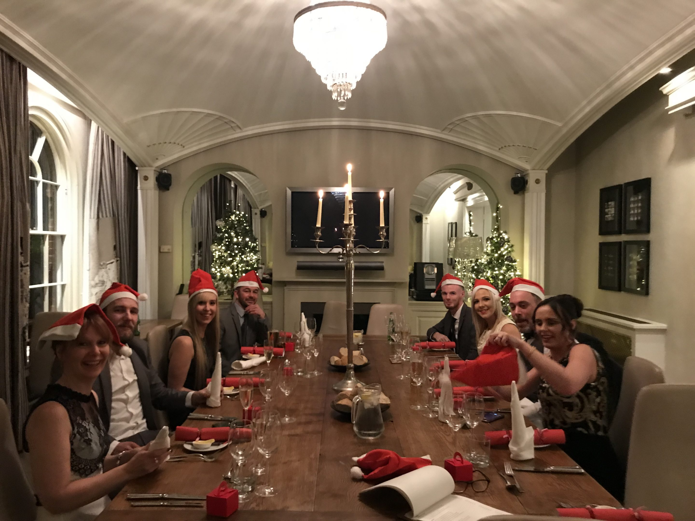 Christmas 2017 – Letting our hair down