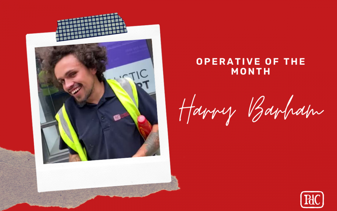 Spotlight shines on Harry Barham PdC – Operative of the Month
